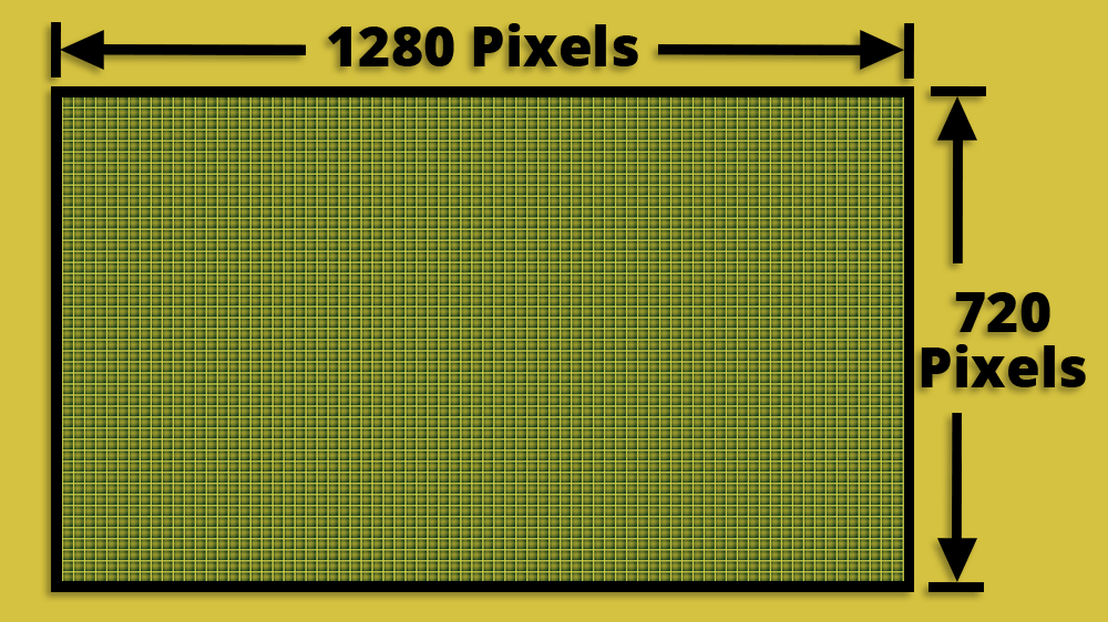 1280 x 720 Image Resolution