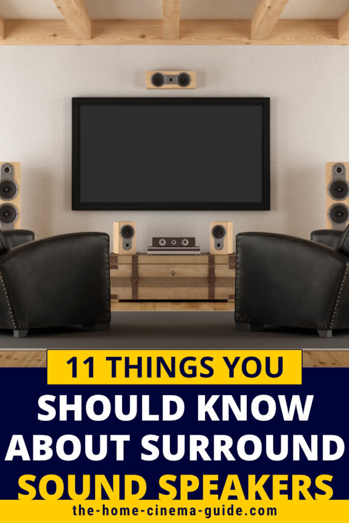 11 Things You Should Know About Surround Sound Speakers
