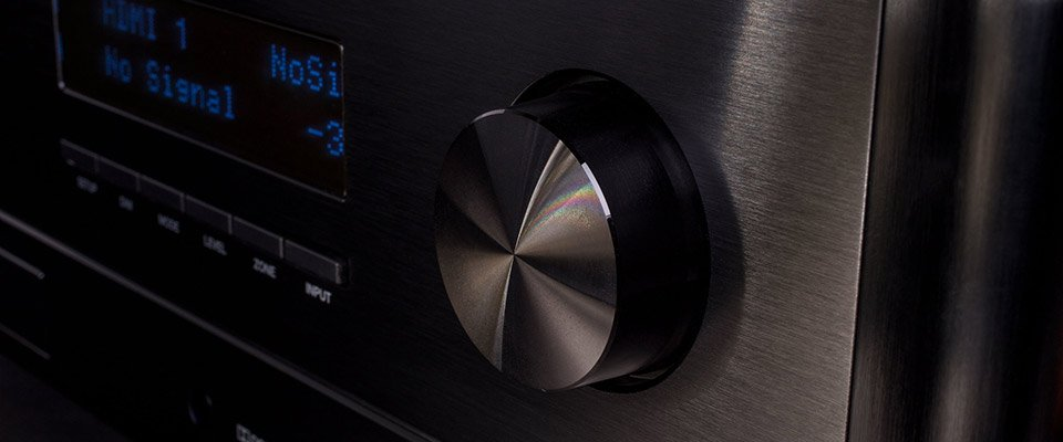 Anthem Av Receivers: Comparing The Mrx Series. Master Volume Control On An Anthem Av Receiver.