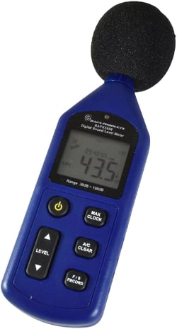 Bafx Products Sound Pressure Level/Decibel Meter