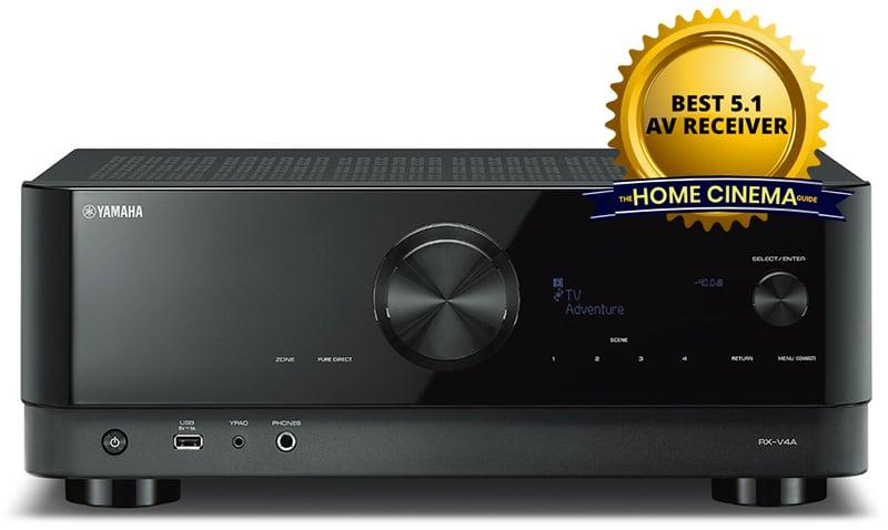 Best 5.1 Av Receiver: Yamaha Rx-V4A 5.2-Ch Av Receiver