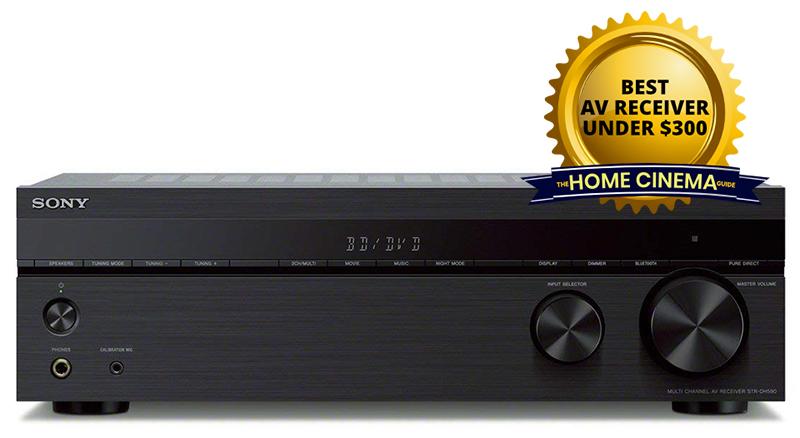 Best Av Receiver Under $300: Sony Str-Dh590 5.2-Ch Av Receiver