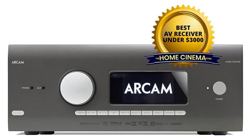 Best Av Receiver Under $3000: Arcam Avr10 7.2-Ch Av Receiver