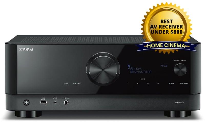Best Av Receiver Under $800: Yamaha Rx-V6A 7.2-Ch Av Receiver