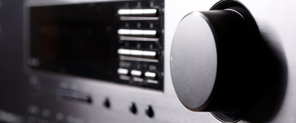 Best Av Receivers: Front View Of A Receiver
