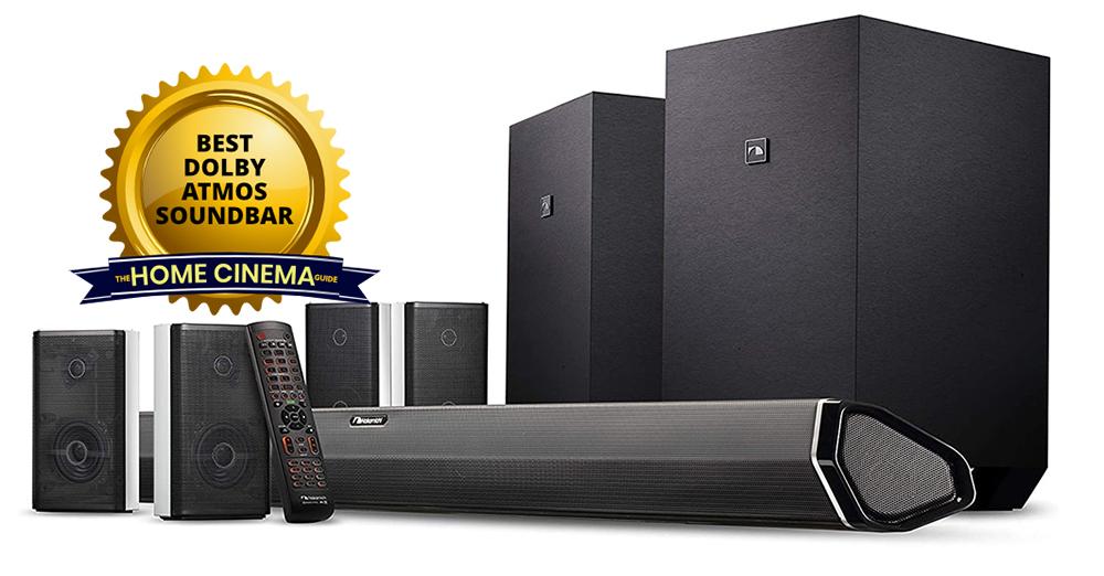 Best Dolby Atmos Soundbar: Nakamichi Shockwafe Ultra 9.2.4 Soundbar System