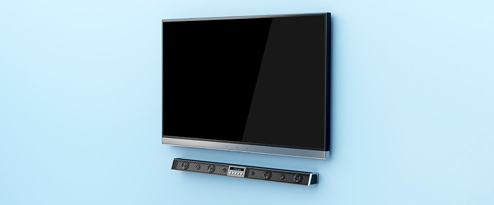 Best Soundbars for Your TV - and Home Theater?: close up of a soundbar speaker