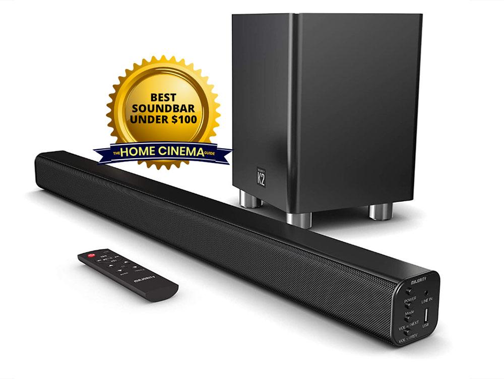 Best Soundbar Under $100: Taotronics Tt-Sk023 Bluetooth Stereo Soundbar