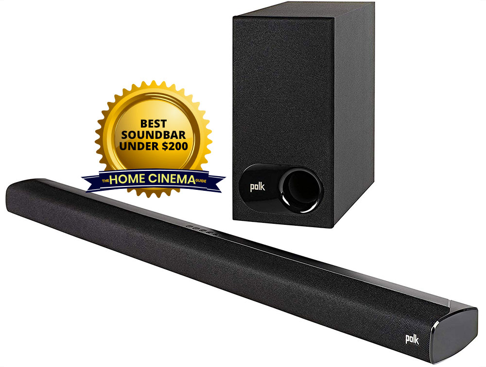 Top Soundbar Under $200: Polk Signa S2 2.1-Ch Ultra-Slim Soundbar