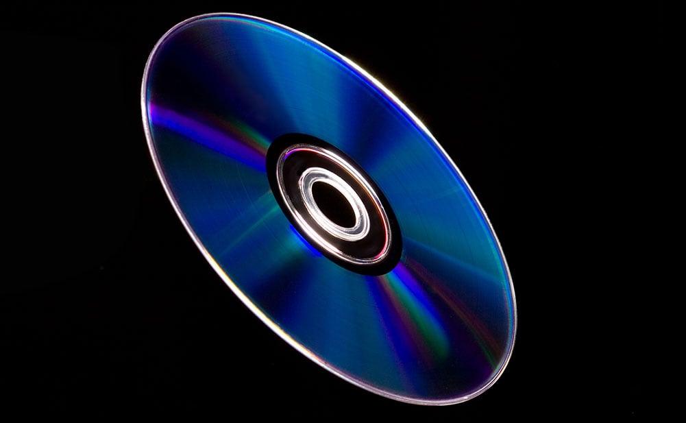Flying Blu-Ray Disc