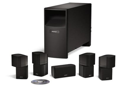 do bose acoustimass 10 series 5 1 speakers require an av receiver. Black Bedroom Furniture Sets. Home Design Ideas
