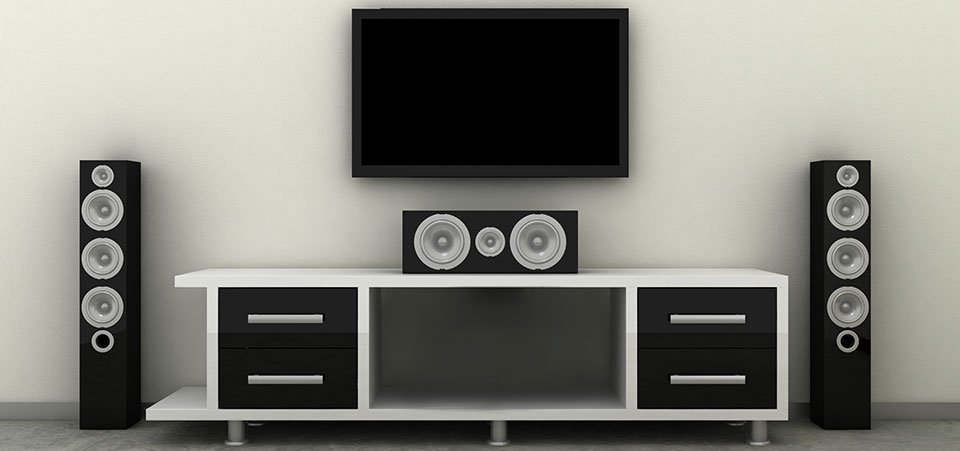 Surround Sound Speaker Placement for 1000.100 & 100.100 Home Theater