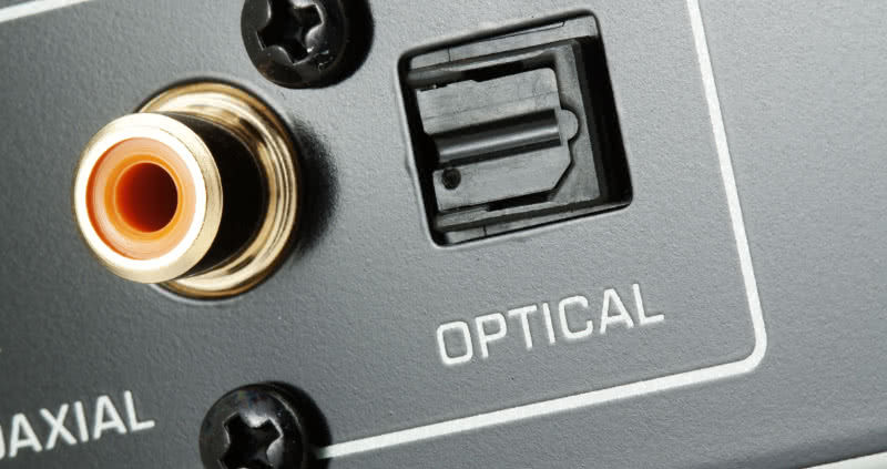 Optical And Coaxial Audio Outputs