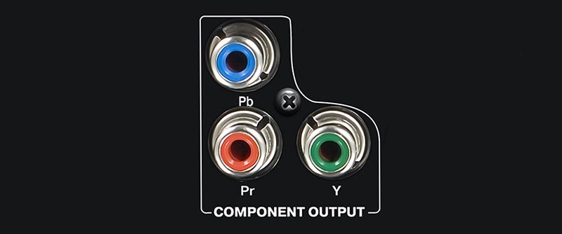 YPbPr component connector