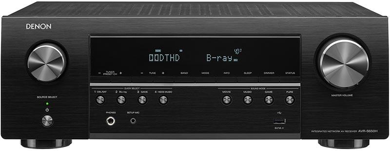 Denon AVR-S650H 5.2-Ch AV Receiver