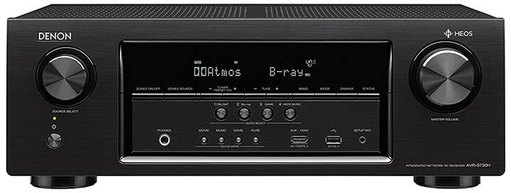 Denon AVR-S730H 7.2-Ch AV Receiver