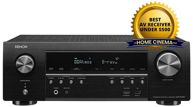 Best Av Receiver Under $500: Denon Avr-S750H 7.2-Ch Av Receiver
