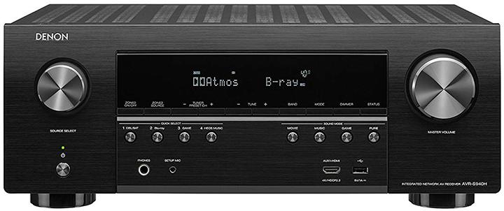 Denon AVR-S940H 7.2-Ch AV Receiver