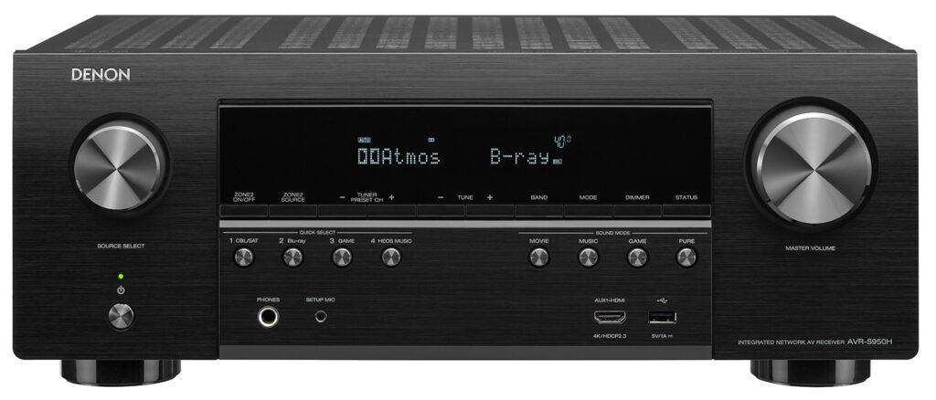 Denon AVR-S950H 7.2-Ch AV Receiver