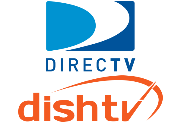 DirecTV and Dish TV Logos