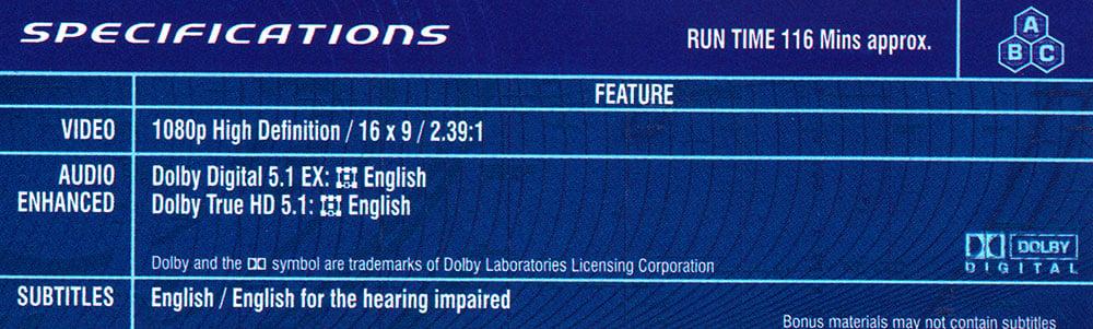 Dolby Truehd 5.1 Audio Codec