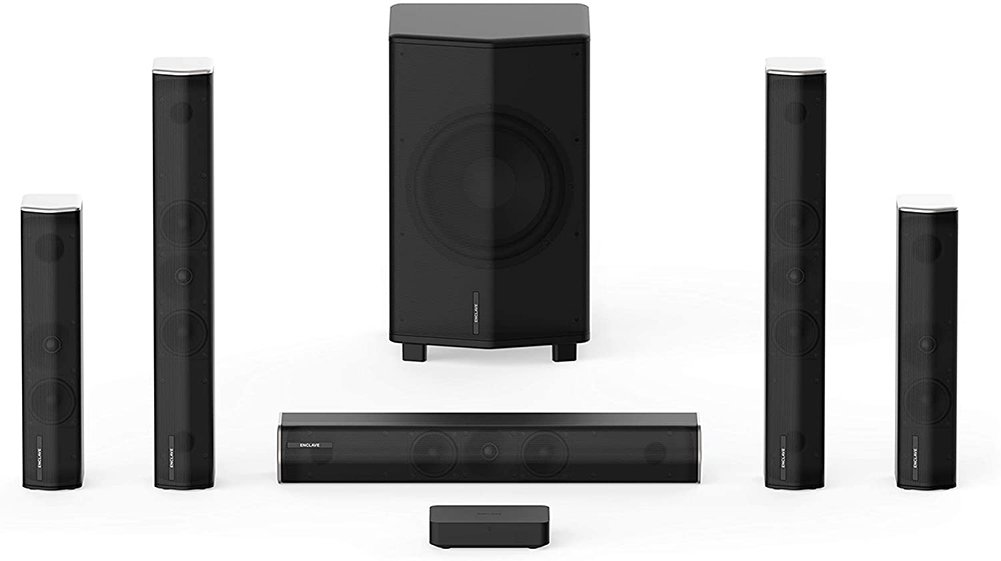 Enclave Audio CineHome HD Wireless Home Theater Speaker System