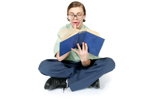 Geek With Book