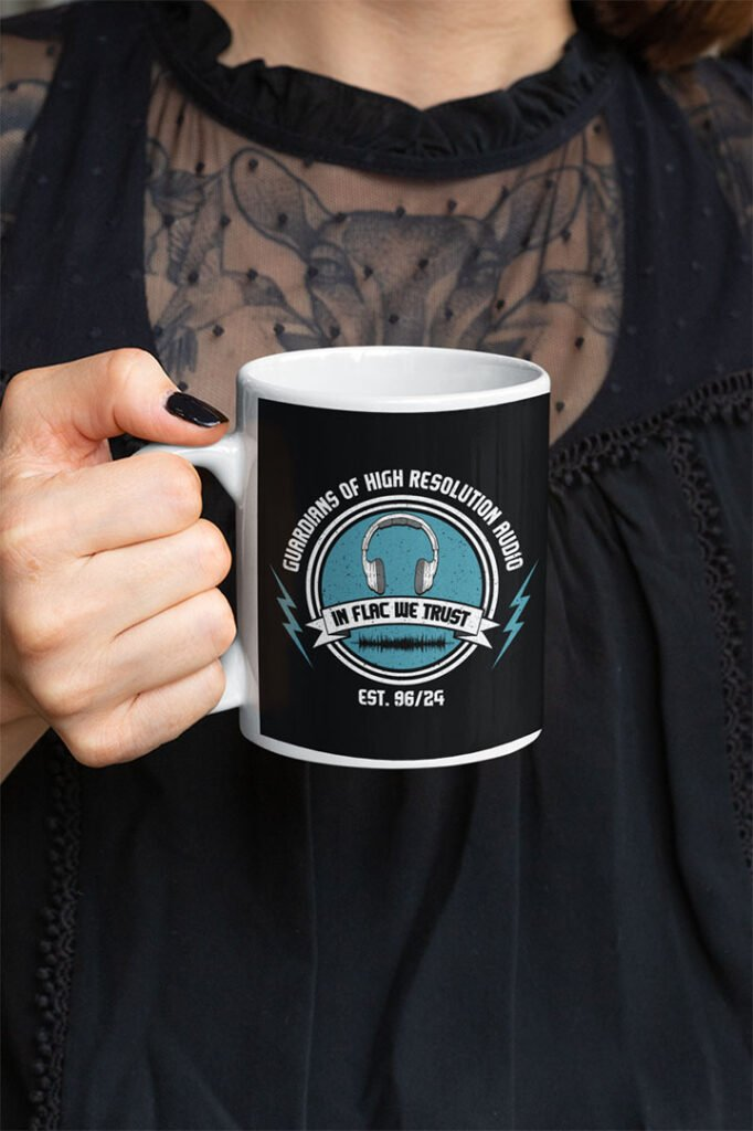 Funny Guardians Of High Resolution Audio Mug For Audiophiles