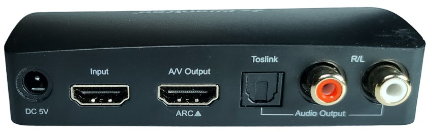 Hdmi Audio Extractor Rear View