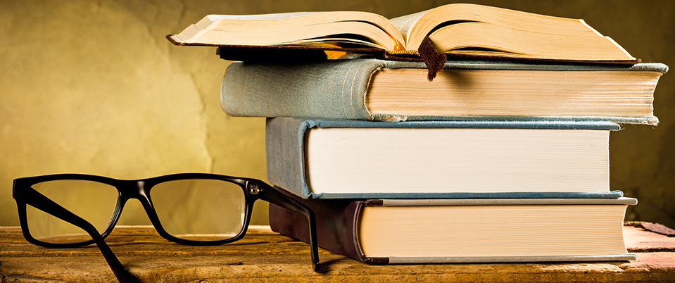 Home Theater Glossary: Old Books And A Pair Of Glasses
