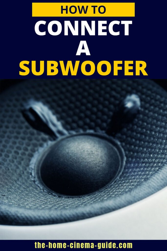 How to Connect a Subwoofer