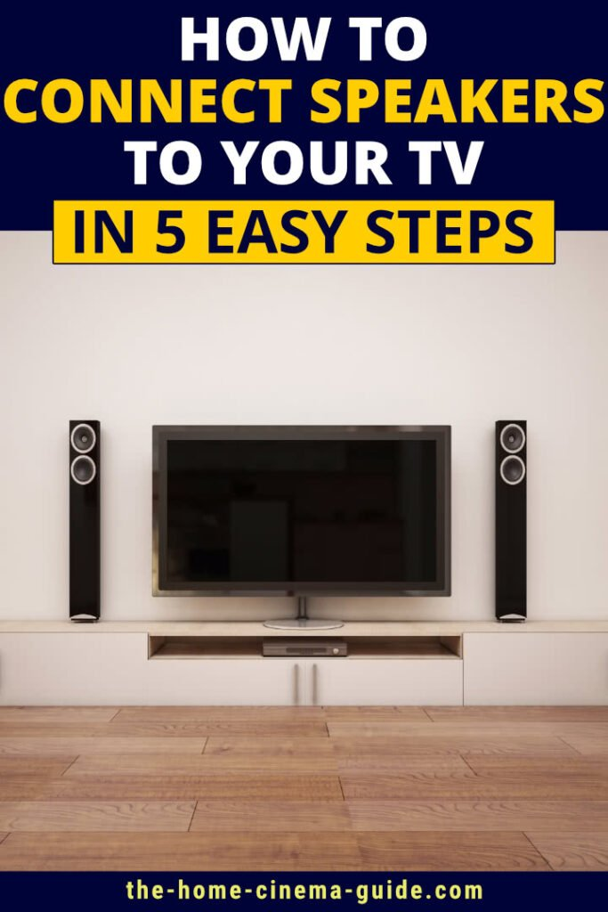 How to Connect Speakers to Your TV in 5 Easy Steps