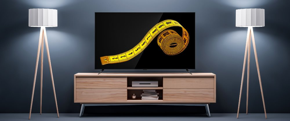 How to measure a TV screen