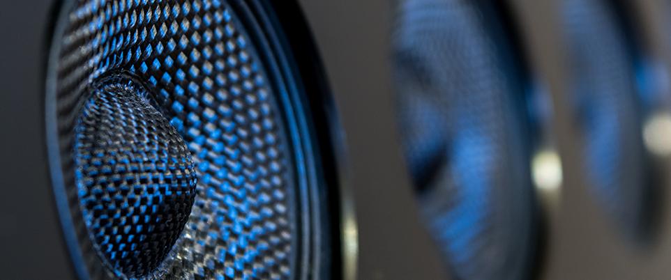 How to Play DTS Audio on Your Sonos Soundbar: Close up of a soundbar speaker