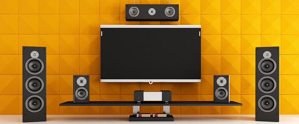 How To Set Up Surround Sound: Easy Home Theater Install Tips - A Surround Sound Speaker System In A Room
