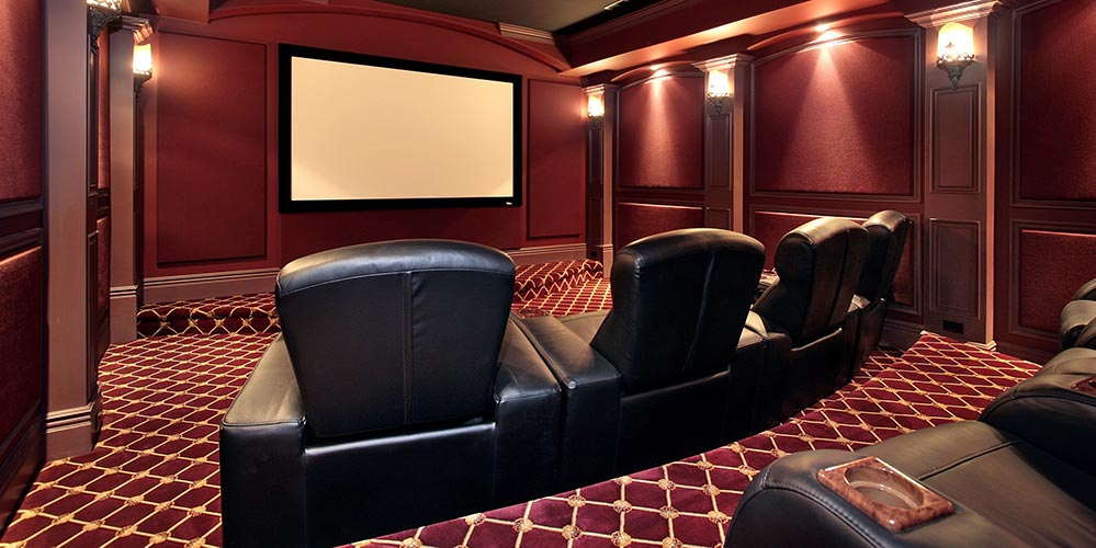 Large Home Theater Room