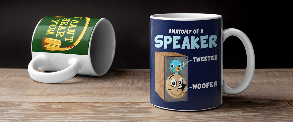 Mugs - Gifts Ideas for Music Lovers, Audiophiles and Home Theater Fans