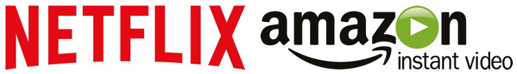 Netflix and Amazon Prime Instant Video Logos