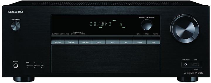 Onkyo TX-SR383 7.2-Ch AV Receiver