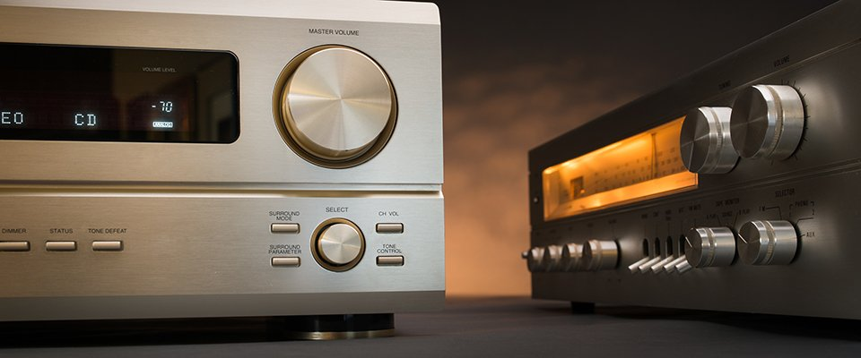 Pioneer AV Receivers: Comparing the Elite vs VSX Models - front view of two amplifiers