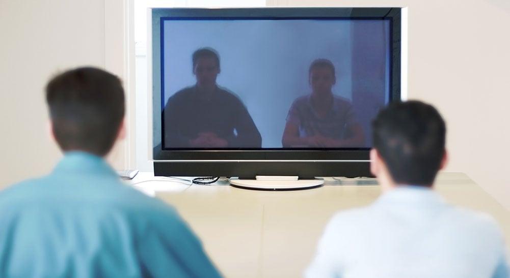 Plasma Tv Screen Reflection