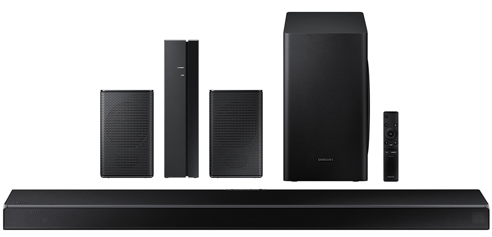 Samsung Hw-Q60T 5.1-Ch Soundbar With Samsung Swa-8500S 2.0 Speaker System