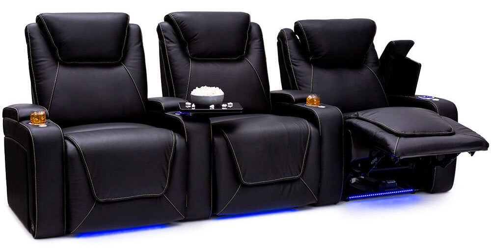 Seatcraft Pantheon Big &Amp; Tall Home Theater Chairs