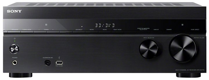 Sony Str-Dh770 7.2-Ch Av Receiver