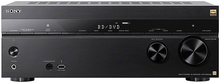 Sony Av Receivers Za Dn Amp Dh Series Compared