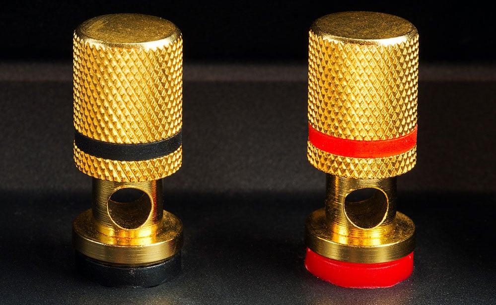Binding Posts On A Speaker