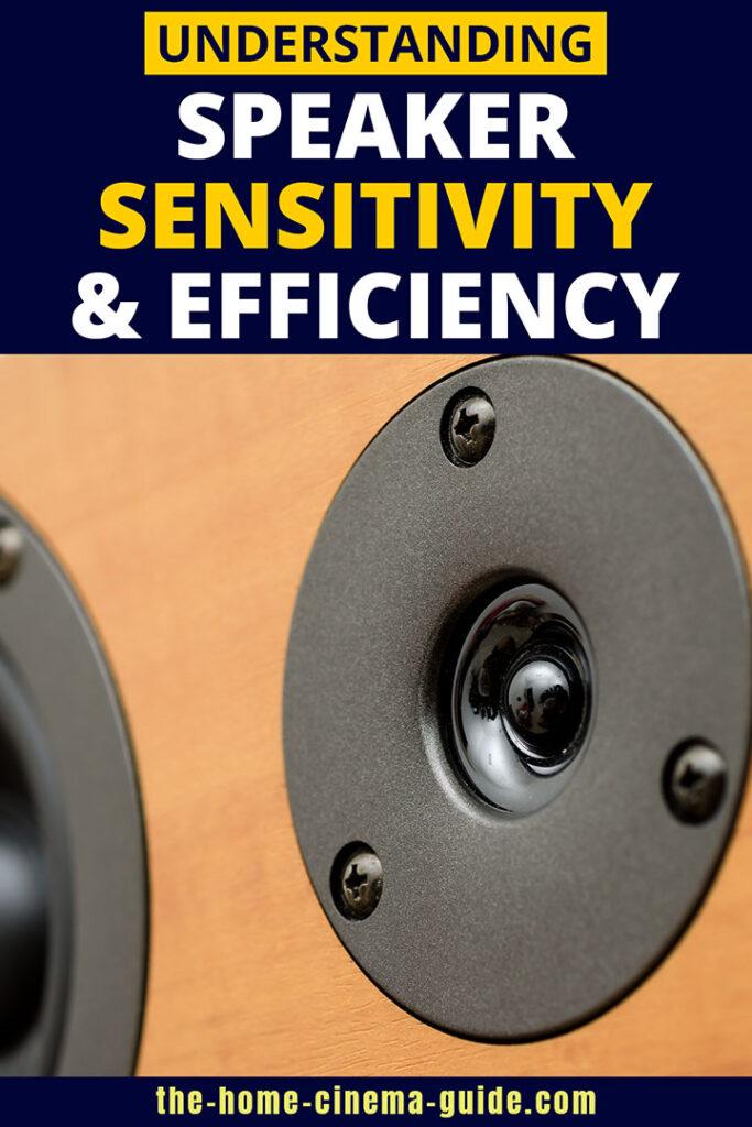 Understanding Speaker Sensitivity And Efficiency