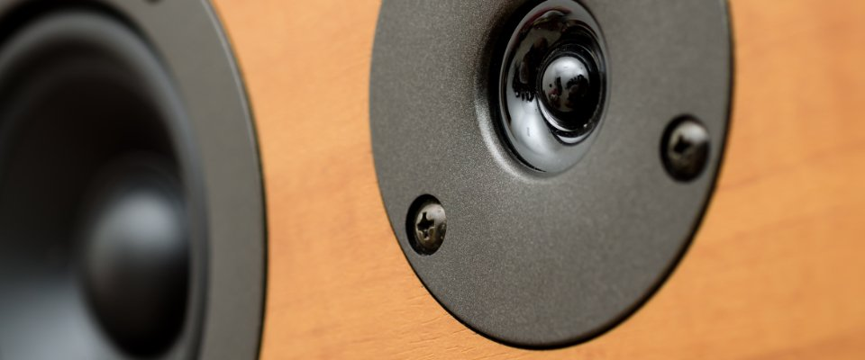 Understanding Speaker Sensitivity and Efficiency - the front of a hi-fi speaker