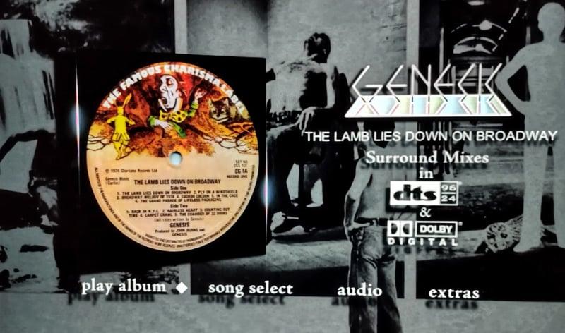 Genesis - The Lamb Lies Down On Broadway - Surround Sound Dvd
