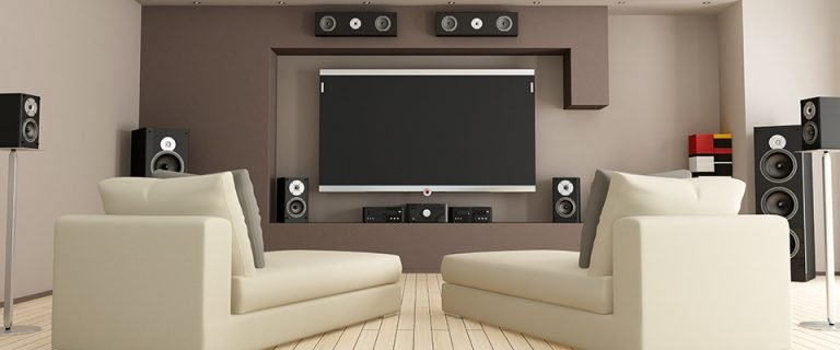 Surround Sound Speaker Placement For 5.1 &Amp; 7.1 Home Theater Systems - Modern Home Theater Room
